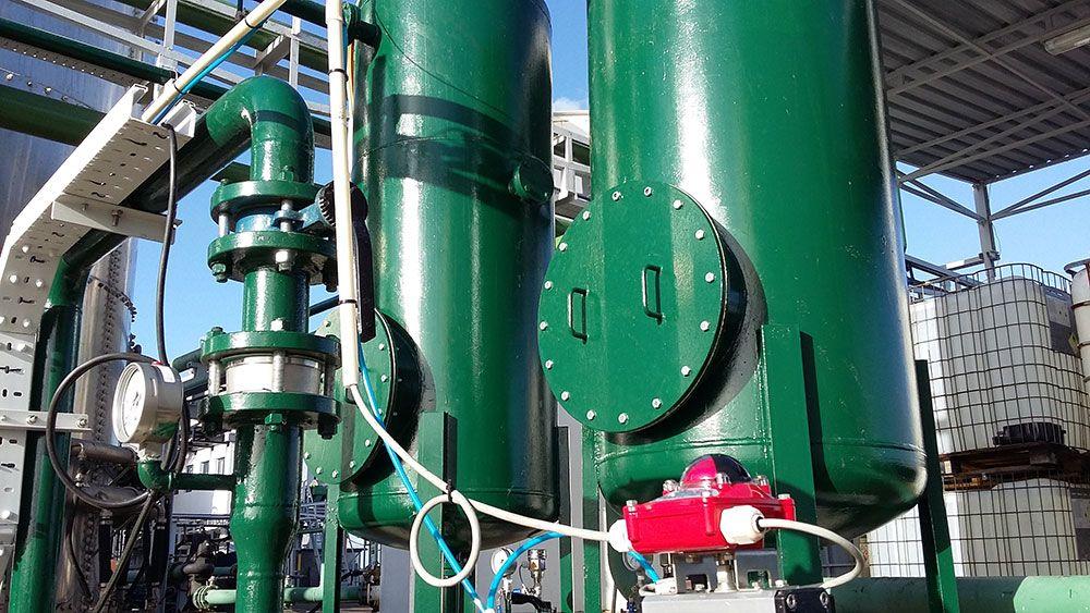 A Eco-Oil conclui o investimento na nova unidade de carvão activado