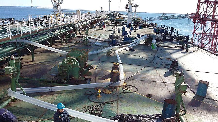 Limpeza de navios