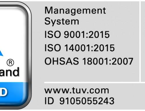 Auditoria de qualidade de renovação e transição dos referenciais ISO 9001 e 14001, e renovação do OSHAS 18001